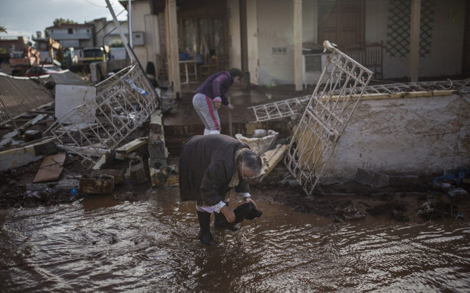 Greece 1 957x598 - Greek flooding toll reaches 19, as more bodies found