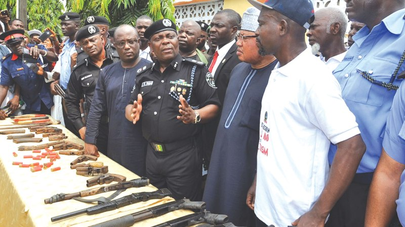 Over 500 Youths Give Up Arms, Renounce Cultism In Lagos