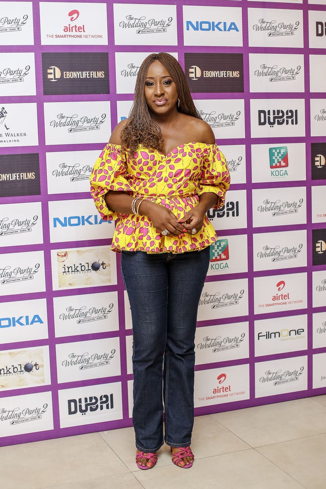 Iretiola Doyle1 - Highlights From The Early Screening Of The Wedding Party 2
