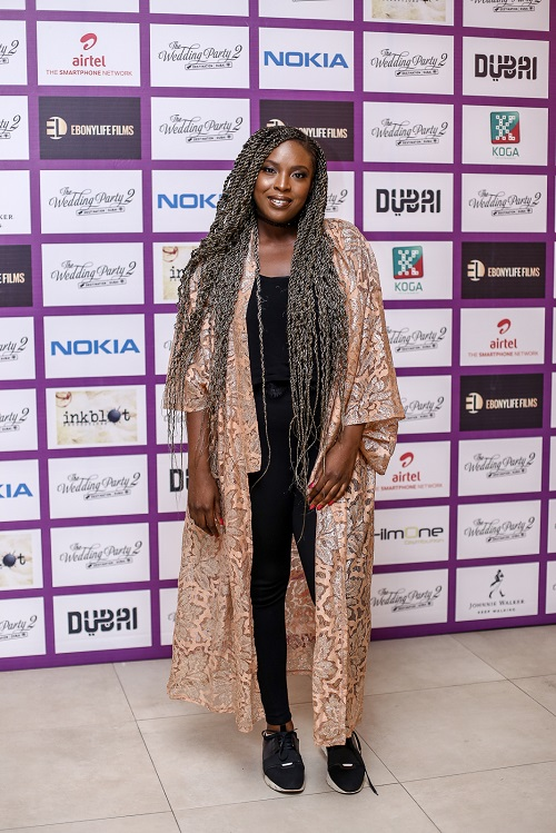 Temidayo Abudu - Highlights From The Early Screening Of The Wedding Party 2