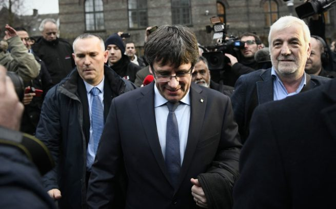 Image result for Puigdemont swearing in postponed by parliament speaker