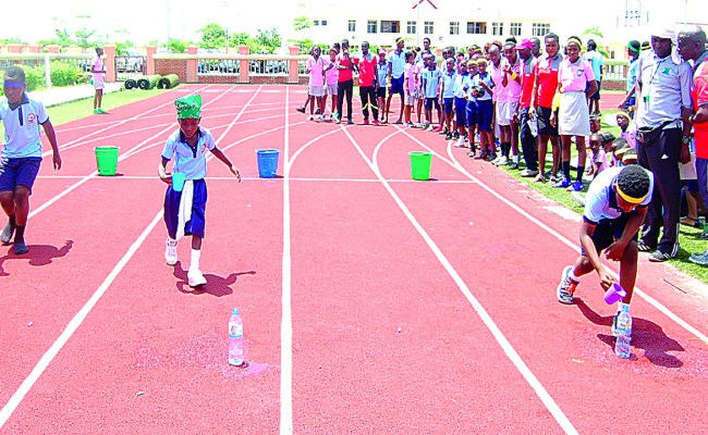 Caleb School Holds Inter House Sports Competition Sunday