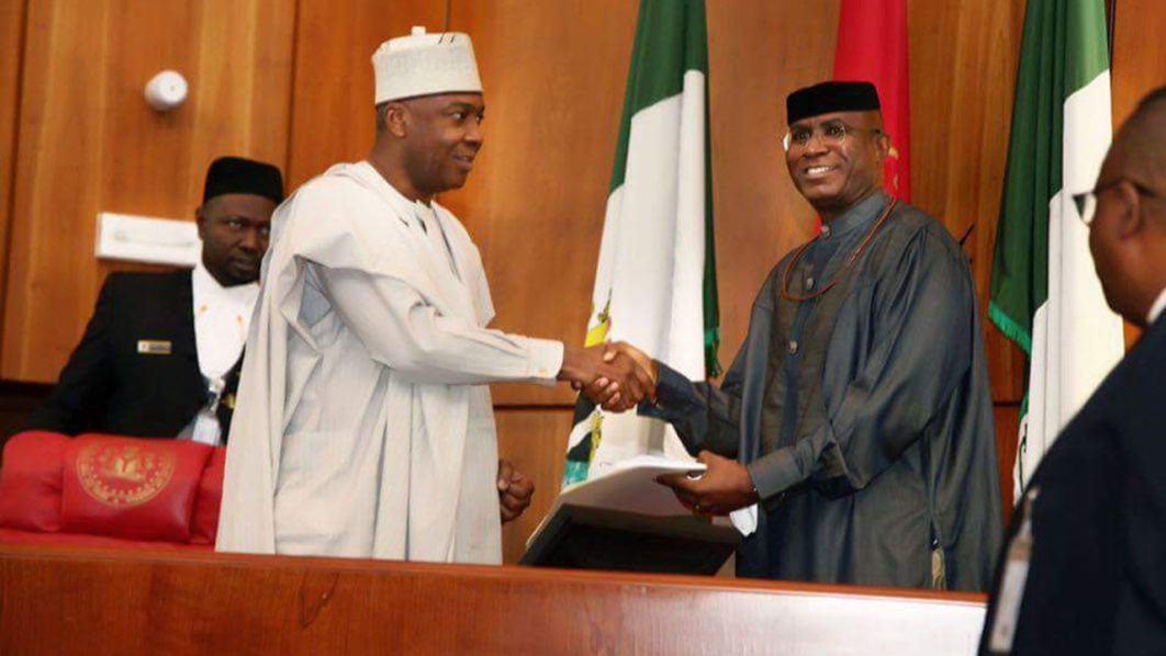 Image result for Senate pays Omo-Agege's entitlements — after court warning
