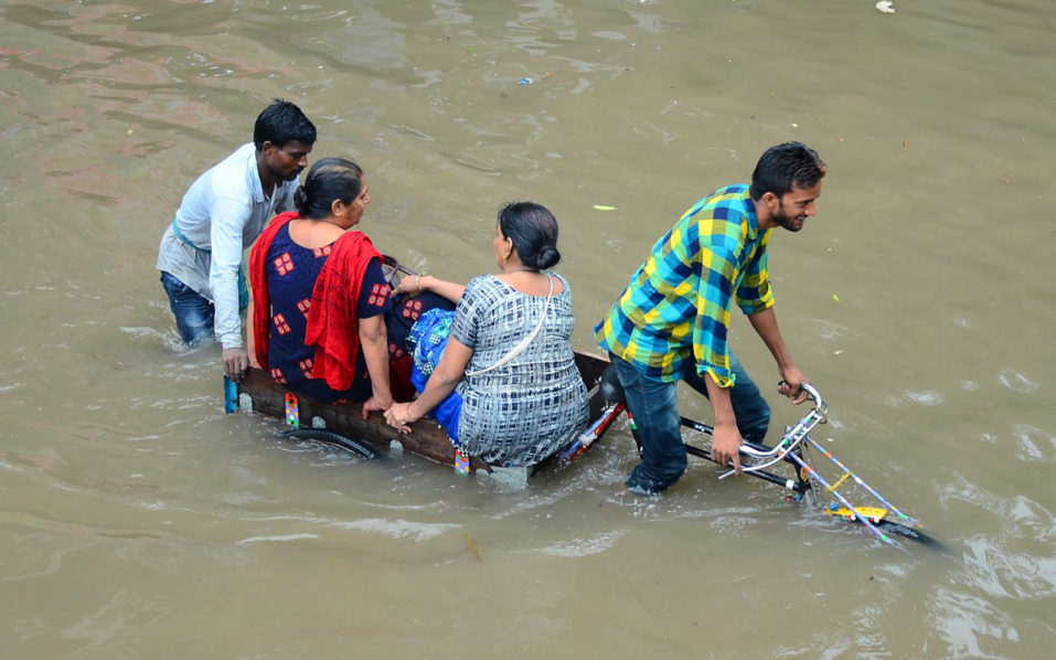 Shocking as Heavy rains kill 30 in India
