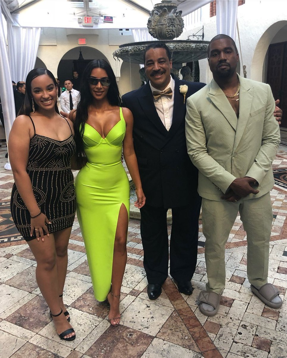 Photos Kanye West Attends 2Chainz Wedding Wearing Yeezus Slides  Guardian Life  The Guardian