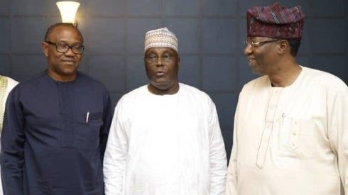 Image result for atiku and gbenga daniel