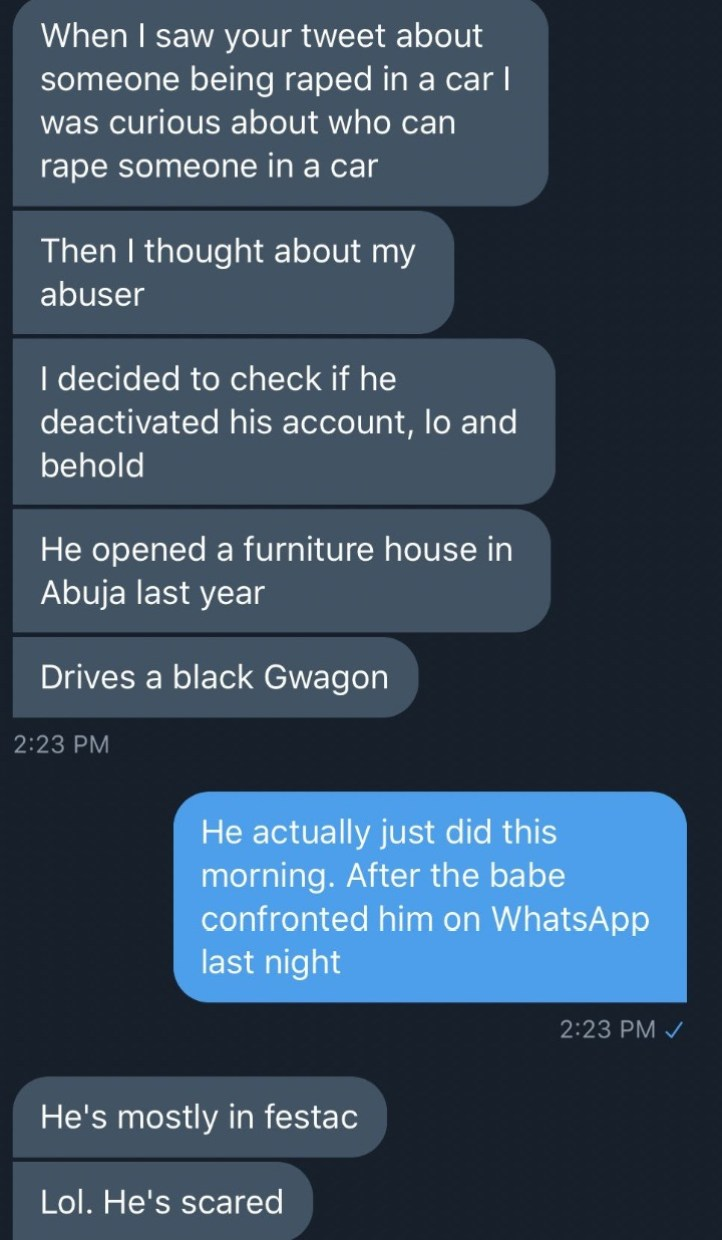 Alleged Serial Rapist Michael Asiwaju Gets Outed On Twitter