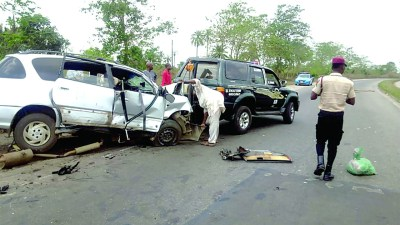 Image result for 1 killed, 5 injured in Gombe auto crash