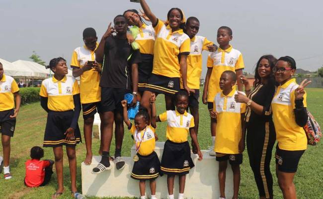 White Dove Schools Hold Inter House Sports Competition