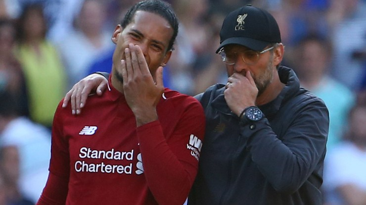 Van Dijk's knee surgery a success: Liverpool