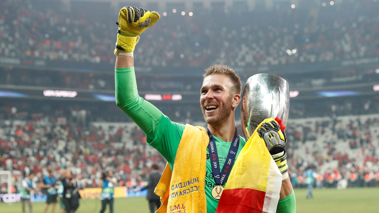 Image result for Liverpool's Adrian