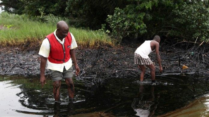 spill oil