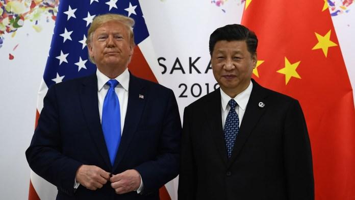 Donald Trump and Xi