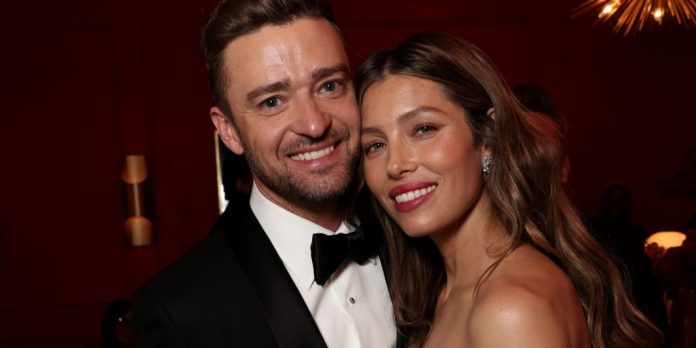 Justin Timberlake and Jessica Biel NBC Getty Images
