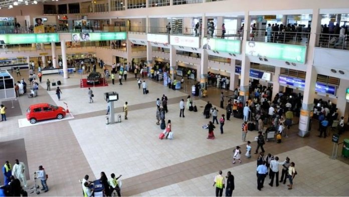 MURTALA MOHAMMED INTERNATIONAL AIRPORT LOCAL WING 2 MM2 SCOURCE BUZZ NIGERIA