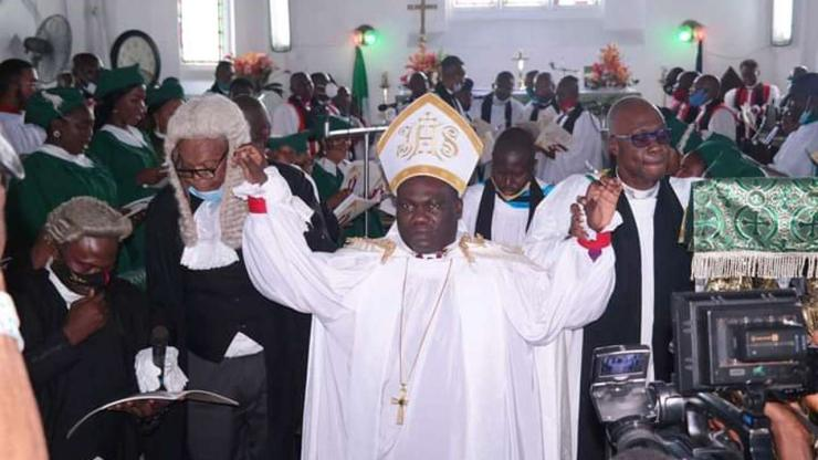 Diocese of Okrika welcomes a new Bishop