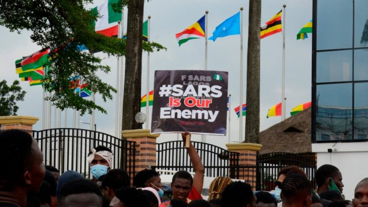 #EndSARS protests and pervious fight against graft