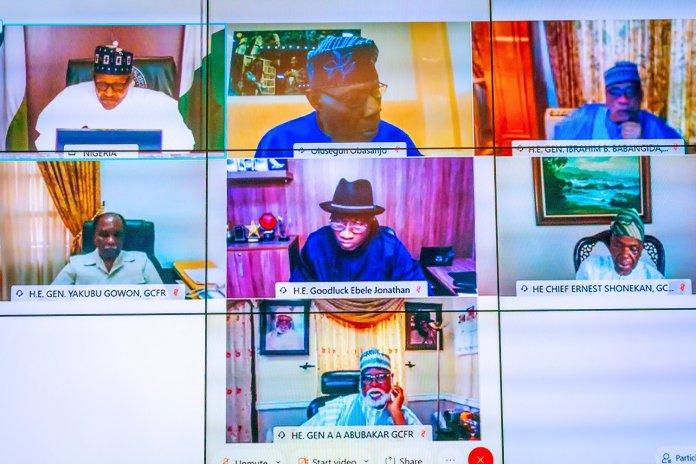 Past Nigerian leaders