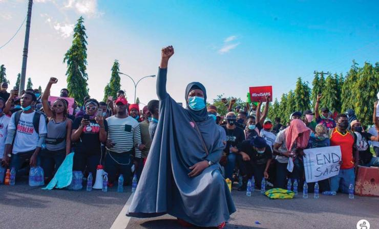 Nigerian women arise seek justice for victims of EndSARS protests