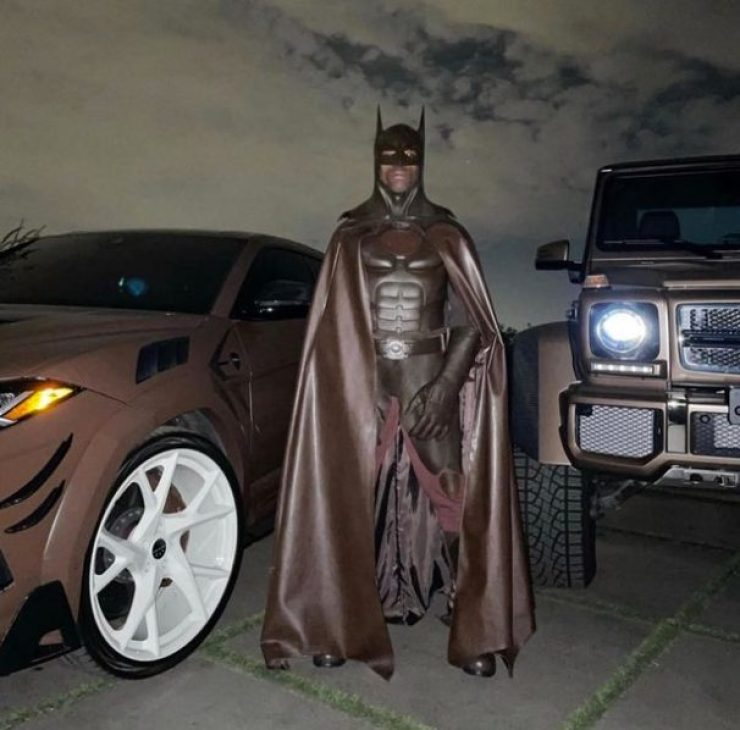 Travis Scott Deletes Instagram After Been Trolled About Halloween Costume