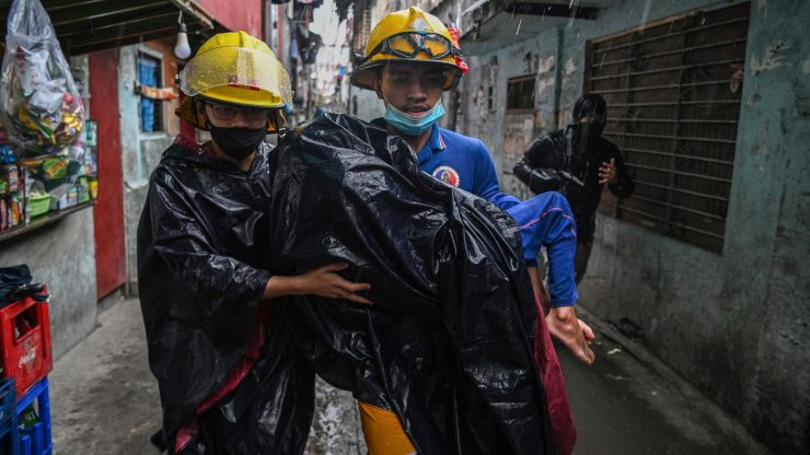 Four dead as Typhoon Goni batters Philippines
