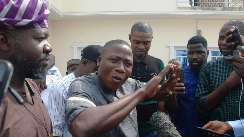 Sunday Igboho, Nnamdi Kanu