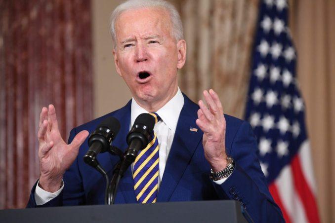 Biden says US won't lift sanctions to bring Iran to talks