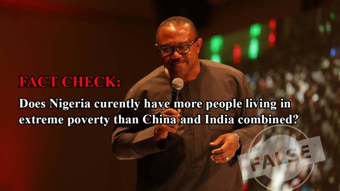 FACT CHECK: Does Nigeria have more people living in extreme poverty than India and China combined?