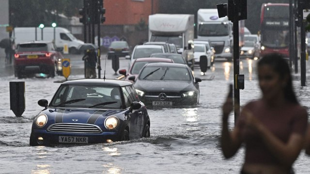 London roads flood as storms roll in | The Guardian Nigeria News - Nigeria and World News — Nigeria — The Guardian Nigeria News – Nigeria and World News