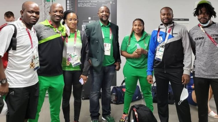 Sports minister Sunday Dare