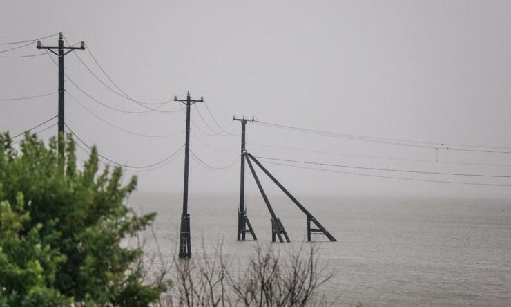 Tropical storm Nicholas weakens as it heads inland