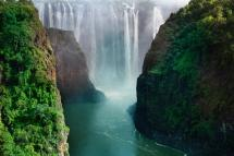 Tourist Attraction Zimbabwe Victoria Falls And Zambezi