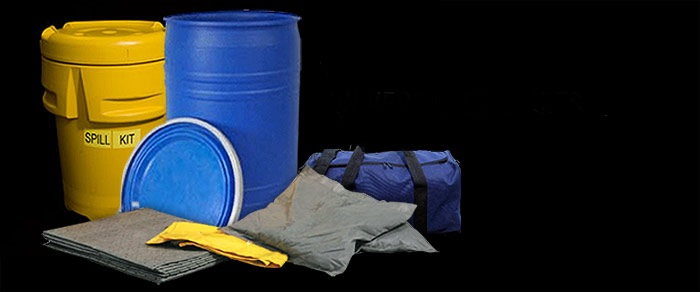 Spill kits landing page
