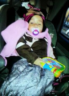 An 18-month old girl abducted in Bensenville IL.