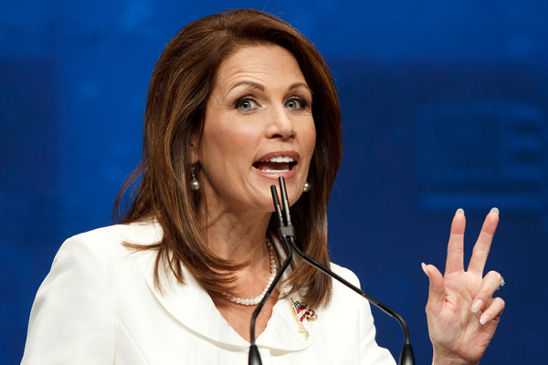 Michelle Bachmannhas has nothing new to say
