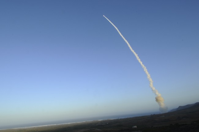 Nuclear Weapons Test from Vandenberg Air Force Base