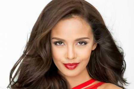 Miss World Megan Young from the Philippines.