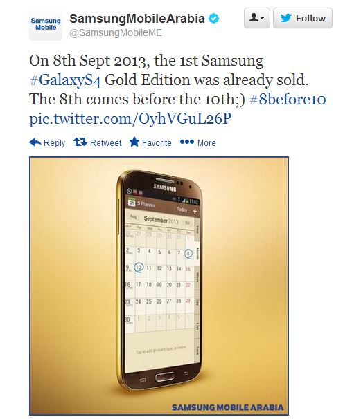 Samsung takes a dig at competitor Apple