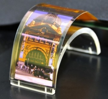 Could the IGZO screen technology lead to a flexible screen for iPhone 6?
