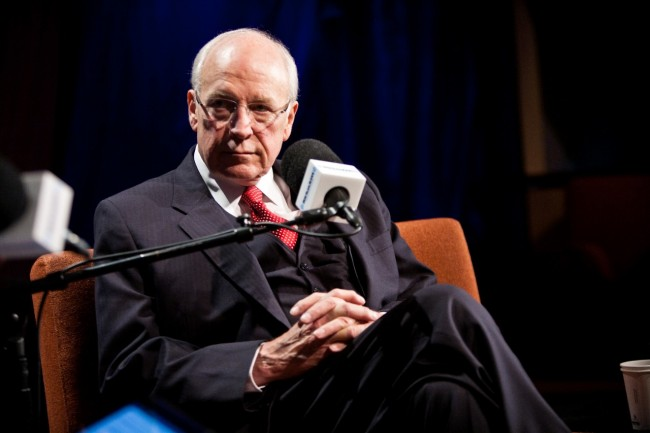 Dick Cheney feared Homeland style assassination