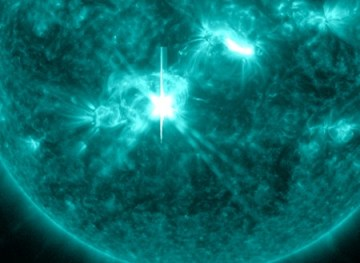 First solar flare was an M9.4