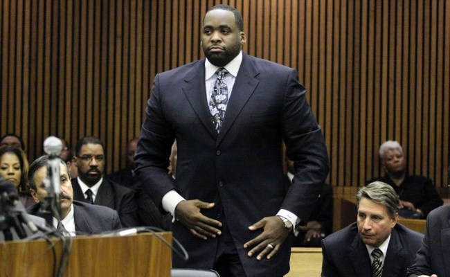 Detroit Mayor Kwame Kilpatrick Sentenced To 28 Years In