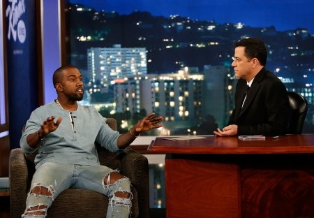 Kanye West on Jimmy Kimmel: It's All About Art and the Truman Show