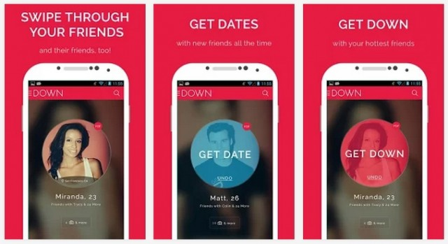 Casual Sex App Bang with Friends Changes Name to Down