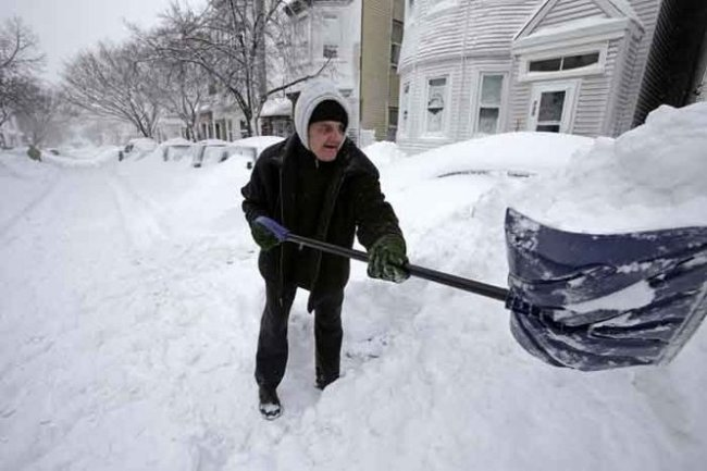 Winter weather descends across the country