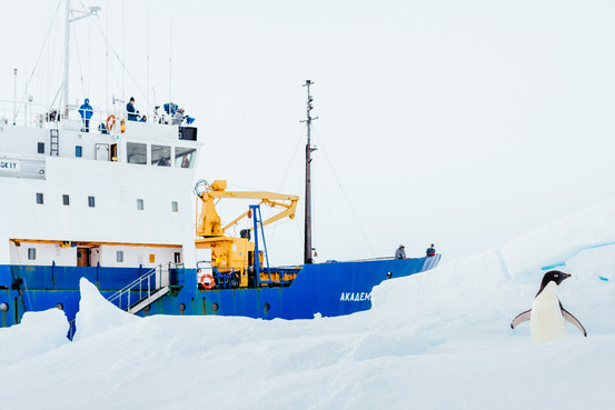 Antarctic Weather Hinders Ship Rescue