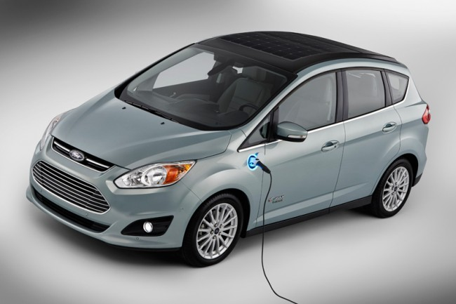 Ford C-Max Solar Energi Concept Car Premieres at the CES Next Week