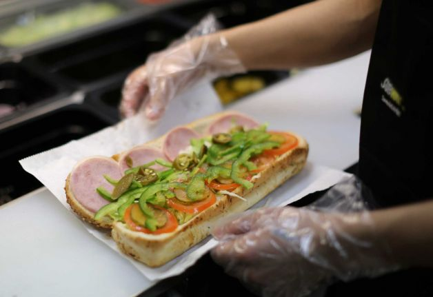 Subway Bread Made With Yoga Mat and Shoe Rubber Time to Remove