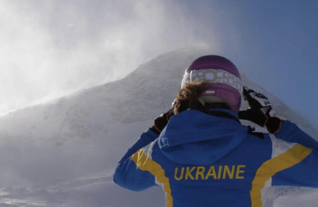 Olympic Skier From Ukraine Goes Home