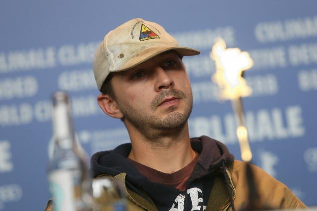 Shia LaBeouf, Paper Bag, Berlin, I am not famous anymore